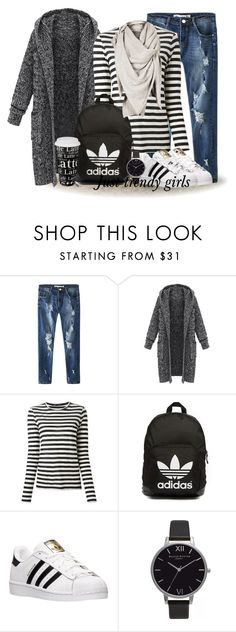 sporty casual style by justtrendygirls on Polyvore featuring Proenza Schouler, adidas, adidas Originals, Olivia Burton, Könitz, women's clothing, women's fashion, women, female and woman