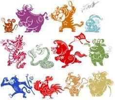 character of Chinese zodiac by benryyou.deviantart.com on @deviantART
