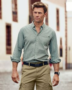 Classic Fit Long-Sleeve Seersucker Shirt | Eddie Bauer