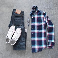 "2,175 Likes, 13 Comments - TheStylishMan.com (@shopthatgrid) on Instagram: ""Denim: @toddsnyderny Bag: @wantlesessentiels T-Shirt: @nonationality07 Sneakers: @commonprojects…"""