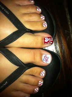 Baseball Toes