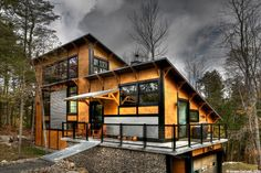 Bone Structure home building technique inspired by Lego Cottage Renovation, Building Companies, Prefab Homes, Home Reno, Modern Farmhouse, Building A House, Architecture Design, Modern Design, House Plans