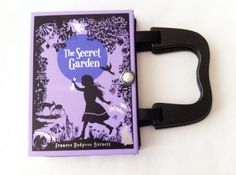 The Secret Garden Recycled Book Purse by NovelCreations on Etsy, $45.00
