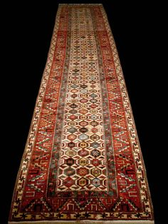 Karabagh Runner, Caucasian Karabagh Rugs, Azerbaijan, Antique Rugs of the Future Project