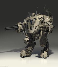 mech-boss by Denis Didenko | Sci-Fi | 3D | CGSociety