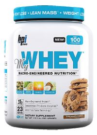 BPI Sports MY WHEY CHOCOLATE COOKIE , 690.0 Grams , Powder