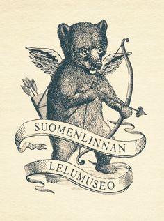 Bear Art, Bear Tattoo Designs, Tarot Tattoo, Animal Drawings, Illustration, Vintage Logo Design, Teddy Bear Tattoos, Art, Animal Illustration