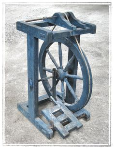 a spinning wheel from Romania