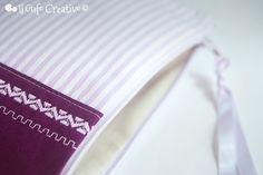 Purple and striped pochette closure | Flickr – Condivisione di foto!