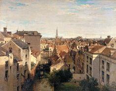 Jean-Baptiste van Moer : Bruxelles en 1868