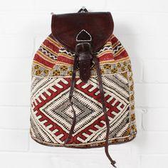 Moroccan Kilim Backpack