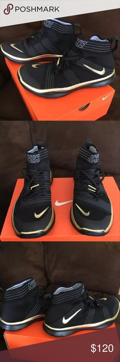 Nike free train virtue hustle hart night shoes New! Bought for my boyfriend but it wasn't his style. Will return if it doesn't sell soon. Nike Shoes Athletic Shoes