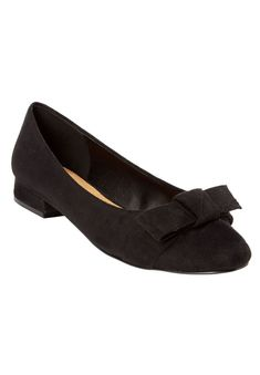 add403a32a2a Woman Within Womens Wide The Francine Pump Black7 1 2 W     To