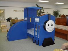 Train Bed - Bunks with Ladder and Slide