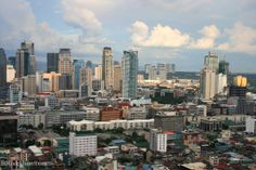 philippines thotos | Manila, Philippines city skyline pic