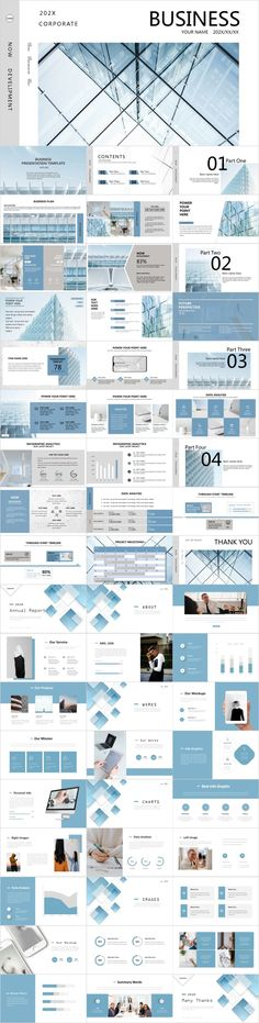 2 in 1 blue business PowerPoint – The highest quality PowerPoint Templates and Keynote Templates download Best Presentation Templates, Simple Powerpoint Templates, Template Brochure, Design Presentation, Professional Powerpoint Templates, Presentation Folder, Keynote Template, Flyer Template, Brochure Design Layouts