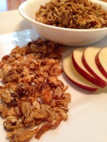 The Comforting Vegan : Healthy Homemade Vegan Granola