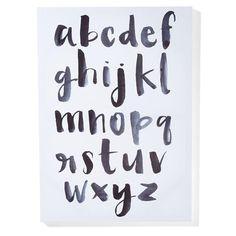 alphabet Print homemaker