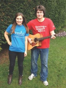Record a CD in aid of Childreach International- such an amazing idea!