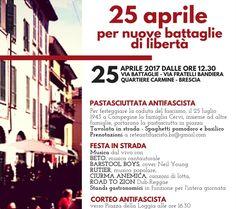 25 aprile: Pastasciutta della Liberazione al Carmine