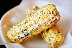 Grilled Corn - this is a MUST HAVE!
