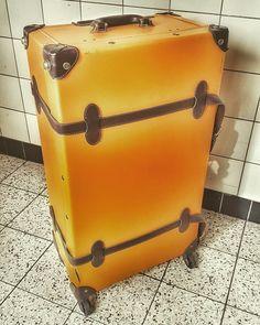 Yellow suitcase
