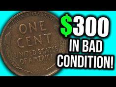Valuable Pennies, Rare Pennies, Valuable Coins, Wheat Penny Value, Penny Values, Old Coins Value, Old Coins Worth Money, Penny Coin, Error Coins