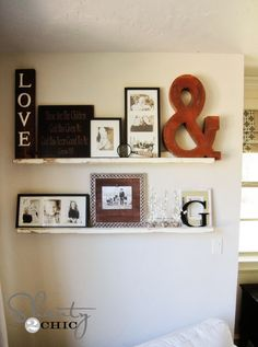 Love the LOVE sign. Want to make that for my front enrtry.
