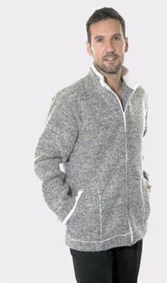 Parka Homewear, Pettrus Man. Parka de tejido polar, más bien gordita y muy calentita. #RopaInteriorMasculina #parkas #regalos www.varelaintimo.com #PettrusMan