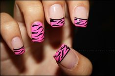 Fashionable Animal Print Nail Art Designs