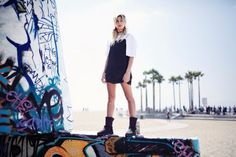 Hailey Baldwin || UGG Australia Launches New Classic Street Collection (August 2016)