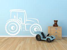 Samolepka na zeď - Traktor SLEVA 15 %