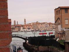 Molino Stucky Hilton, room view - Venice, Italy