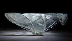 Crystal Vault (Side View) - Kiln Formed Glass 2011 Stanislav Libenský ...