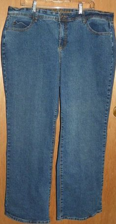 33fa6f81cb541 Cato Premium Blue Denim Jeans. Women s Size  20W. Great shape and condition  with