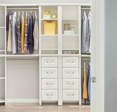 Awesome Getting Organized Is Easy With Beautiful And Functional Storage! Explore  Our New Impressions Systems Now. Closet DesignsMotivate ...