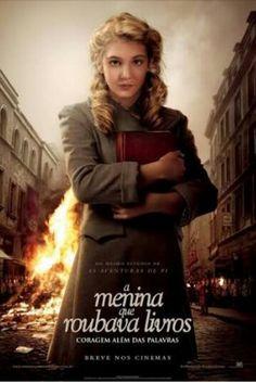A menina que roubava livros.  Filme envolvente e apaixonante. Recomendo!