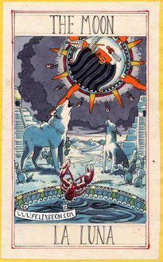 Aztec Tarot by Felix D'Eon
