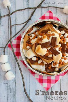 S'mores Nachos - The Perfect Summer Get-Together Dessert