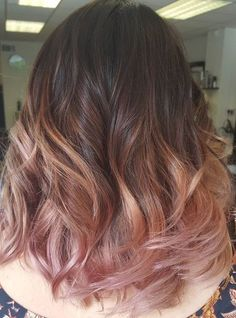 38 rose gold hair color ideas 2017 hair in 2019 머리, 투톤염색, 헤어스타일. Gold Hair Colors, Ombre Hair Color, Cool Hair Color, Purple Hair, Pastel Hair, Weird Hair Colors, Blonde Hair With Pink Tips, Purple Pixie, Gray Hair