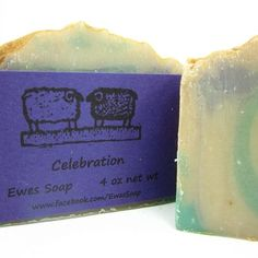 Homemade Cold Process Soap with Shea Butter and Kaolin Clay Body Bar | EweniqueEssentials - Bath & Beauty on ArtFire