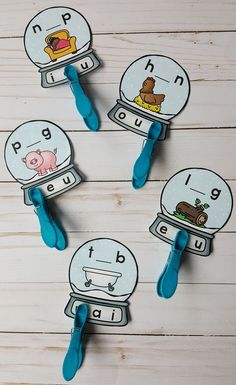 Winter Phonics Fun for Your Little Learners! These CVC activities are great for morning tubs, early finishers, informal assessment, and take home practice. $ #winter #phonics #snowglobe #kindergartenphonics #literacycenters #kampkindergarten #cvcwords #cvcactivities   https://www.teacherspayteachers.com/Product/Winter-CVC-Snow-Globe-Clip-Card-Literacy-Centers-3652856