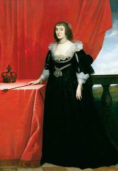 Elizabeth, Queen of Bohemia (1596–1662), the 'Winter Queen' by Gerrit van Honthorst