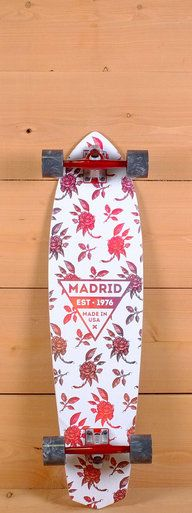 "The Madrid 37"" Dude Longboard is designed for carving and cruising."