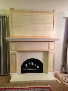 How To Build Own Mantel Home Improvement Build Your Own
