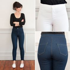 Intro to Jeans: Mia Jeans | a sewing class at Sew Over It