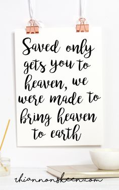 I'm Saved...Isn't That Good Enough? Are we limiting God to just salvation when He offers us SO much more?