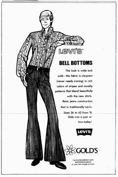 Weekly student newspaper from Southwestern University in Georgetown, Texas that includes campus news along with advertising. Vintage Denim, Vintage Fashion, Advertising, Ads, Texas History, 50th Birthday, Bell Bottoms, Denim Jeans, February