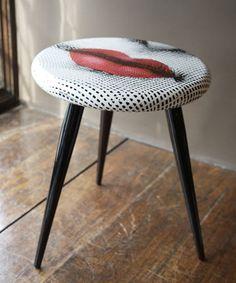 http://www.liberty.co.uk/fcp/product/Liberty/Furniture/Lips-Stool,-Fornasetti/4121