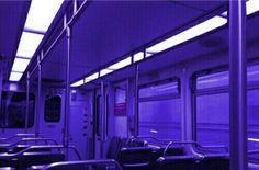 Sylvia on the subway Neon Purple, Purple Walls, Purple Haze, Shades Of Purple, Magenta, Violet Aesthetic, Dark Purple Aesthetic, Rainbow Aesthetic, Pink Lila